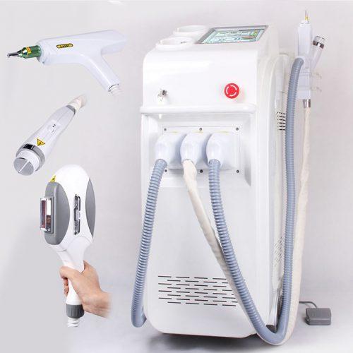 NewAge E-light + Tetoválás Eltávolító + RF Bőrfeszesítő gép