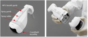 liposonic testkezelő gép kezelőfeje