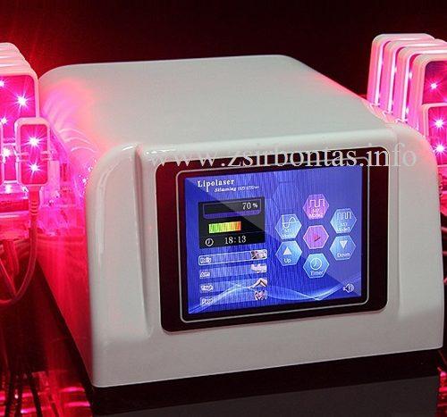 NewAge 12 fejes LLLT Lipo lézeres karcsúsító gép